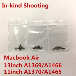 $enCountryForm.capitalKeyWord Australia - A1466 A1465 A1370 A1369 Bottom Back Screws for macbook Air 11inch 13inch Universal Computer Case Cover screws 2long 8short 10pcs Set