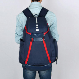 womens backpacks zippers NZ - Designer-New National Team Backpack The Olympic Mens Womens Designer Bags Teenager Black White Blue Outdoor Basketball Backpack 3 Colour