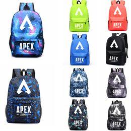 Discount pack games - Apex legends backpack Glowing in Dark Respawn day pack New hero school bag Game packsack Luminous Storage Sport Outdoor