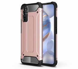 cool armor NZ - Reminiscent Cool Rugged Combo Hybrid Armor Bracket Impact Holster Back Cover Case For Huawei Honor 30