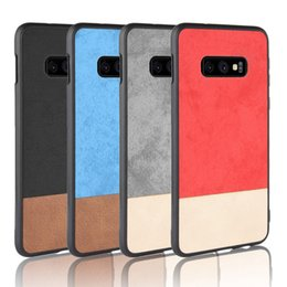 $enCountryForm.capitalKeyWord Australia - Hybrid Canvas Cowboy PU Leather Soft TPU PC Protective Case For iPhone XR XS MAX X 8 7 6 Samsung S3 S8 S9 S10 Plus S10e A7 A9 2018 M10 M20