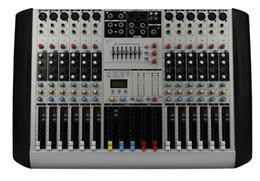 12Channels 4Band EQ 2Bus Output 48V Phantom 26DSP Effect Audio Mixer HX12 on Sale