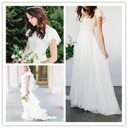 Weddings & Events Vivians Bridal 2019 Hot Boho Crop Top Wedding Dress Sexy Strapless Off Shoulder Court Train Mermaid Reception Wedding Gown