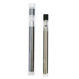 $enCountryForm.capitalKeyWord UK - 300pcs lot Pyrex Glass Disposable Electronic Cigarette 5s C1 C2 Thick Oil Atomizers Vape Kit With 320mah Battery