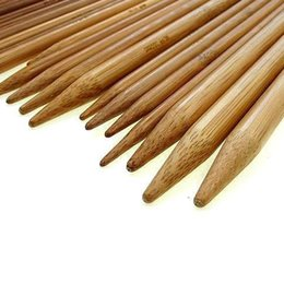 "crochet hooks knit needles NZ - 75 Pcs 7.9"" 20cm Double Pointed Bamboo Handle Crochet Hooks Knit Weave Yarn Craft Knitting Craft Knit Tools"
