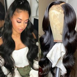 China Brazilian 4*4 Lace Closure Wig Straight Pre-Plucked Human Hair Wigs 150% Density Lace Wig with Baby Hair Indian Peruvian Hair cheap natural human hair lace front wigs suppliers