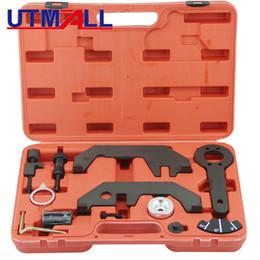 Set Engine Timing Australia - UTOOL Engine Camshaft Timing Chain Locking Setting Tool Kit for BMW N62 N73 540i, 545i, 550i, 645i, 650i, 735i, 740i, 745i, 750i