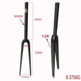Road Bicycle Carbon Fork Australia - New arrival 700C Road bicycle UD   12K carbon fibre forks Fixed Gear bike carbon forks Track bike carbon front forks matt  glossy
