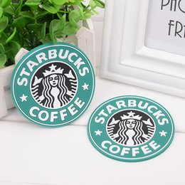 $enCountryForm.capitalKeyWord Australia - Silicone Foldable Coasters Tea Cup thermo Cushion cover Holder Starbucks sea-maid coffee Cup Pads 3 colors