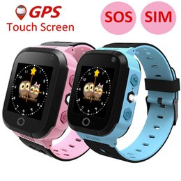 Gsm Gprs Gps Australia - 2017 Smart Baby Watch Children Kids Y21 GSM GPRS GPS Locator Tracker Anti-Lost SOS wechat Dial Call Smartwatch Child Guard alarm