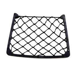 phones net Australia - Car Storage Net Organizer Phone Seat Bag Car Styling Holder Universal Mesh Pocket Debris Storage Bag
