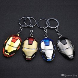 Metal rubber keychain online shopping - The Avengers Iron Man key chain bell couple Keychain Car Key Holder Acrylic Bell Anime Key Chain Bag Pendant Bts Accessories Girl Gift
