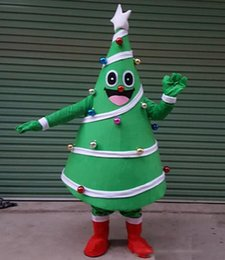 tree costumes Australia - 2019 High quality hot Christmas Tree Mascot Costume Fancy Party Dress Outfit Adult Size Free Ship with high quality