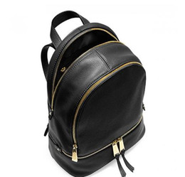 Glitter Christmas UK - 2019 free shipping backpacks designer fashion women lady black red rucksack bag charms free shipping