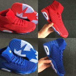 b42209c948b7 New Custom 6 Blue Knit Man Designer Basketball Shoes Cheap VI Red Woven  Fashion Sport Sneakers Good Quality Ship With Box Size US8-12