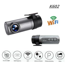 radar detector recorder UK - K602 1080P Car Camera WDR No Screen WIFI Driving Recorder Night Vision Car DVR Dash Cam Android IOS Control Loop-Cycle Recording