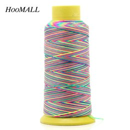 korean cotton fabric diy 2019 - IY Apparel Fabric Hoomall Brand Colorful Cotton For Sewing DIY Handmade Stitch Thread 0.6mm Embroidery Thread Sewing Acc