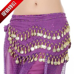 gold belly dance chains UK - Belly Dance Children Or Adults 98 Bitcoin Chain Belt Exercises Beginners Waistband Three Chain Belt Indian Dance Chain Belt