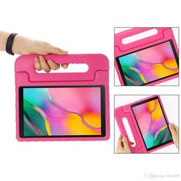 Case tablet Child online shopping - Kids Children Handle Stand EVA Foam Soft Shockproof Tablet Case For Samsung TAB A inch P200 P205