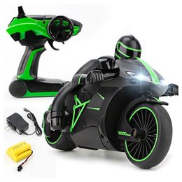 Wholesale 2019 G Mini Fashion RC Motorcycle with Cool Light High Speed RC Motorbike Model Toys Remote Control Drift Motor Kids Toys for