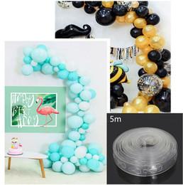 $enCountryForm.capitalKeyWord Australia - DIY Latex Balloons Modeling Tool Plastic Balloon Chain 5M Balloon Tie Knob Tool Birthday Party Wedding Decoration Supplies (Retail)
