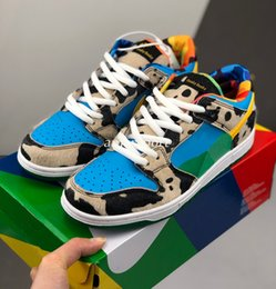 Wholesale 2020 New Ben & Jerrys x SB Dunk Low Chunky Dunky milk White Lagoon Pulse-Black-Universit Running Shoes sports With Original Box Size36-44