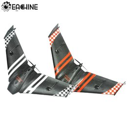 Eachine Top Sonicmodell Mini AR 600 mm Envergadura EPP Racing FPV Flying Wing Racer para RC Avión PNP Negro Para Niños Regalo