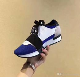 Ingrosso Novità Scatola di scarpe originale DESIGNER SNEAKERS DESIGNER SCARPE MENS CASUAL SHOES DONNA SPORT MARCA RUNNERS FASHION FLATS RACER LUXURY SNEAKERS