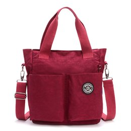 $enCountryForm.capitalKeyWord Australia - Women Nylon Waterproof Shoulder Bag Handbags Women Messenger Bags Designer Multifunction Zipper Travel Bolsos