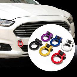 $enCountryForm.capitalKeyWord Australia - Universal Trailer Hook Sticker Car Styling Decoration Auto Rear Front Trailer Simulation Racing Ring Vehicle Towing Hook