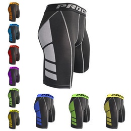 Wear Compression Shorts Australia - 2019 Sport Wear Compression Shorts Summer Workout Slimming Fit Bodybuilding Brand Clothing Breathable Quick Dry Male Short SA-95