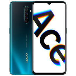 """Wholesale Original Oppo Reno Ace 4G LTE Cell Phone 8GB RAM 128GB 256GB ROM Snapdragon 855+ Octa Core 48.0MP AI NFC Android 6.5"""" Full Screen Fingerprint ID Face Smart Mobile Phone"""