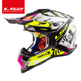 $enCountryForm.capitalKeyWord NZ - Origina LS2 MX470 SUBVERTER Off-road helmet high quality ls2 motocross helm ATV dirt bike downhill racing motorcycle helmets