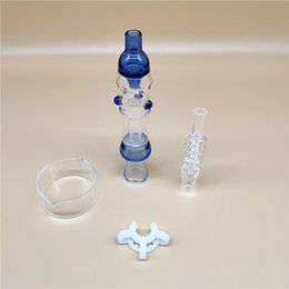 $enCountryForm.capitalKeyWord Australia - Popular Colorful OD 1.0 Inch Nectar Collectorx Suitable with A 14mm Quartz Nail & A Plastical Connector& A Glass Bowl for Straw Glass Bongs