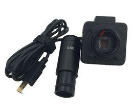 $enCountryForm.capitalKeyWord Australia - Freeshipping 5MP USB digital electronic eyepiece Industrial tool Inspection camera C-Mount for Microscope With 0.5X adapter