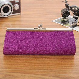 clutches for evenings Canada - Women Evening Clutch Handbag Diamond Rhinestone Crystal Day Glitter Purse Wedding Party Banquet bags for women 2019