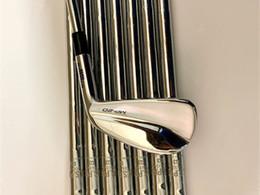 Toptan satış Yepyeni MP20 Demir Seti MP20 Golf Dövme Irons MP20 Golf Kulüpleri 3-9P Çelik Mil ile Merkez Kapağı