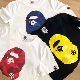 $enCountryForm.capitalKeyWord Australia - Bape T Shirt Kids Designer Clothes Boys A Bathing Ape Tees Childrens Clothes Baby Girl Clothes Short Sleeve 3 Colors
