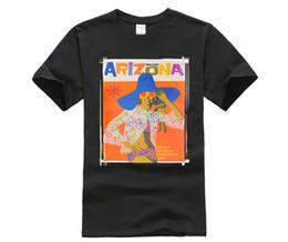 $enCountryForm.capitalKeyWord UK - Amazing Arizona - Vintage Retro Travel Poster - Mens T Shirt