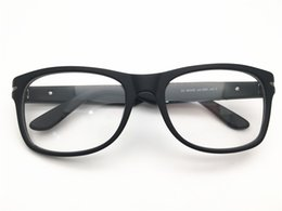 df02cb402a88 Brand Design men matte black classical shape full rim top quality optical  frame spectacle frame optical Clear prescription Lenses DL5208-F