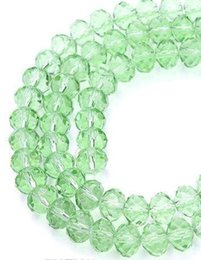 blue apple jewelry NZ - 500pcs LOT APPLE GREEN Quality Faceted 4 SIZES #5040 RONDELLE Wheel glass crystal beads DIY JEWELRY MAKING