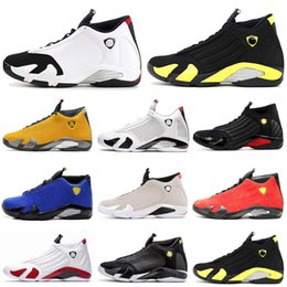 $enCountryForm.capitalKeyWord Australia - Men Basketball Shoes 14 14s Reverse Gold BQ3685-706 Red Candy Cane Last Shot Black Toe Desert Sand Thunder Blue Suede Sports Sneakers 7-13
