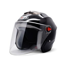 motorcycle half helmets for men Canada - Motorcycle Helmets Men Women Universal Half Helmet Electric Moto Accessories For S1000XR s1000r gs 1200 F650GS F700GS f850gs