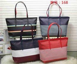 Navy Black Stripes Bags Australia - designer handbags NEVER FULL pu leather women handbag fashion totes composite fashion totes bag LoVely designer bags