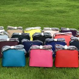 $enCountryForm.capitalKeyWord NZ - 18 Colors KS Satchel Crossbody Bag Women PU Shoulder Bag Belt Tote Purse Handbags Messenger Shell Bags Zipper Waist Fanny Packs C41701