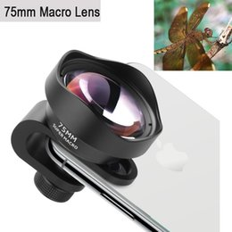 effect cameras Australia - Professional Phone Camera Lens 75mm Macro Lens Hd No Distortion Dslr Effect Clip-on For Iphone X Samsung S8 Huawei Xiaomi J190704