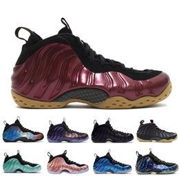 Roses foam online shopping - New Penny Hardaway Mens Basketball Shoes Element Rose Alternate Galaxy Legion Green Air Eggplant Maroon Foams Athletic Sport Sneakers