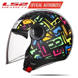 $enCountryForm.capitalKeyWord Australia - LS2 OF562 airflow motorcycle vintage helmet 3 4 open face summer jet scooter half face motorbike helmet LS2 helmets