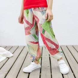 $enCountryForm.capitalKeyWord Australia - New Summer Nine Points Pant Small Children's Cotton Silk Mosquito Pant Harem Pants Baby Air Conditioning Pants Manufacturers