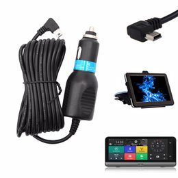 Gps Accessories Wholesale Australia - 2A Mini USB Car Power Charger Adapter Cable Cord For GPS Naviagtion Navigator DVR Car Accessory